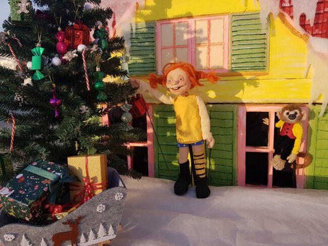 Das Bilderbuchtheater: Pippi Langstrumpf feiert Weihnachten Foto